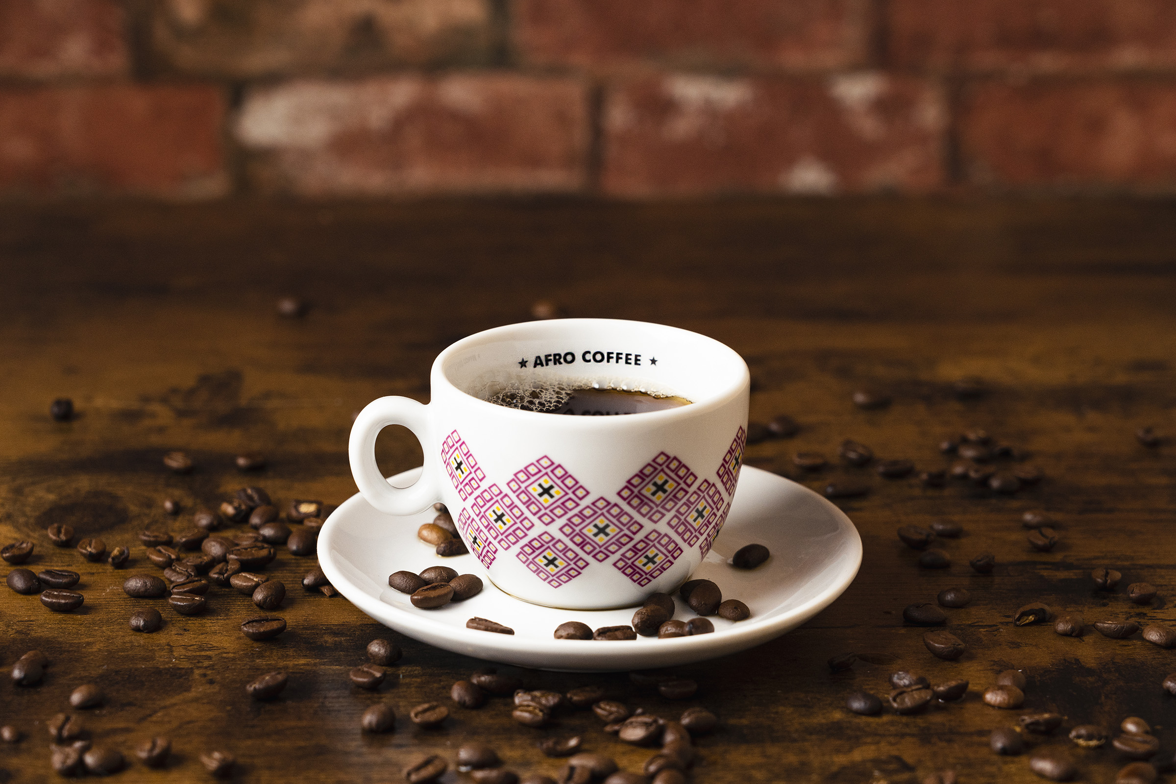 Rise Up Media Black Coffee Breakfast